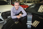 Euro City's general manager and Audi sales manager Dwayne Bewley is Audi Sales Manager of the Year . Photo/Warren Buckland