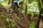 New Plymouth's Wyn Masters on his way to winning the 2017 Giant Toa Enduro on Sunday. Photo/Fraser Britton
