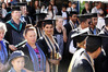 HARD WORK: Nitee Ramnarain was one of many recent EIT graduates who paraded through Napier yesterday. PHOTO/PAUL TAYLOR.