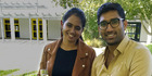 Kavya Vunnam and Bharath Gadiparthi are graduating from EIT.  Photo / Supplied