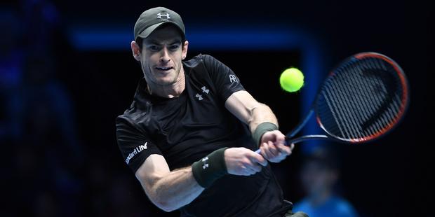 Andy Murray (Great Britain) defeats Milos Raonic (Canada). Photo/AP Photos