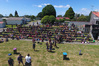 Te Puke High School's athletics day, with a photo taken with a drone. Photo/Supplied