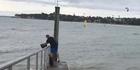 Watch: Watch: Man dumps fish guts at North Shore beach