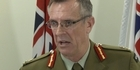 Watch: Watch: Chief of Defence Force faces media over SAS allegations