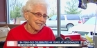 Watch: Watch: 94-year-old woman works at McDonald's