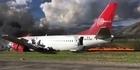 Watch: Watch: Passengers flee wreckage of plane crash in Peru