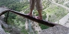 Watch: Archive: The world's scariest footpath