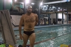Moss Burmester is getting back in the water for The World Master Games.