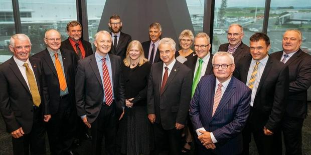 Mayors and leaders of the Upper North Island Strategic Alliance councils. Photo / Supplied