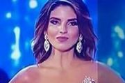 Miss Columbia contestant Vanessa Dominguez could not hide her disappointment. Photo / YouTube, Beautybeauty