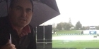Watch: Rain continues to fall at Seddon Park