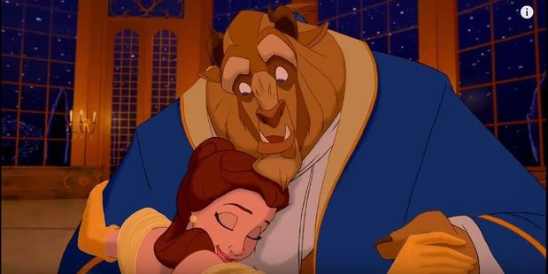 Disney films like Beauty and the Beast perpetuate the myth that opposites attract. Photo / YouTube