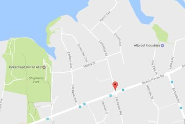 The boy told police he was on Lancaster Rd, in the Auckland suburb of Beach Haven, when he was grabbed. Photo / Google Maps