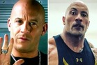 Vin Diesel and The Rock don't see eye to eye. Photos / Instagram