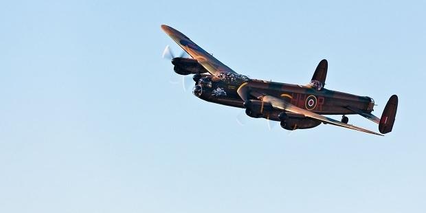 Loading A Lancaster bomber. Photo / 123RF