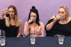 Coke connoisseurs Gracie, Patricia and Liana put their taste buds to the test. Faced with a blind tasting, the girls had to tell the difference between Coke, Pepsi Max, Coke Life, Diet Coke, Pepsi, Coke Zero and a special 'home brand' number.