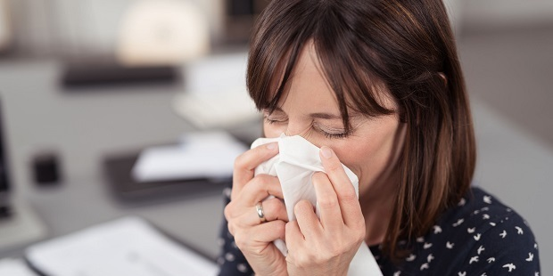 About 27 million days of work are lost in the UK every year because of the common cold. Photo / 123RF