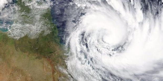 Loading The tropical storm is currently lying about 400km off the northeast coast of Australia.