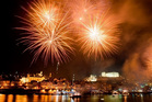Fireworks on the Douro River during St John celebrations. Photo / Getty Images