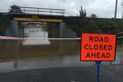 Flooding at Subway Road in Pukekohe. Photo / Doug Sherring