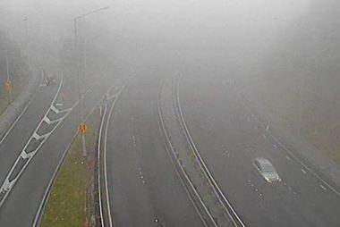 All flights at Wellington Airport have now been suspended because of the sea fog. Photo / NZTA