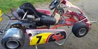 A go-kart is still missing after a spate of robberies across Manawatu farms.  Photo / Police
