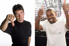 Kanye West is the favourite for American Idol, over Simon Cowell. Photos / Supplied, Getty Images