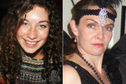 Kim Bambus and Cherie Vousden both went missing from the same track near Piha. Photos / Supplied
