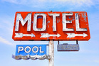 American hotels have a seedy reputation, do some research to find an acceptable budget-friendly chain motel. Photo / Getty Images