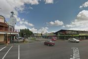 Police are appealing for information after the incident yesterday about 3.15pm in Palmerston North near the intersection of Main and Princess Streets. Photo / Google Street View
