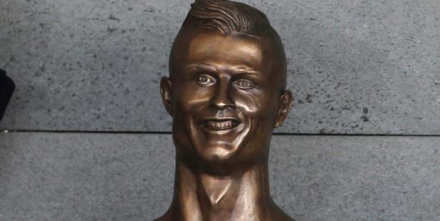 Is that really Ronaldo? Photo / AP