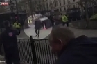 Source: Sky News  Boxer Frazer Clark, who filmed the events leading to the attacks end, praises the bravery of the police officer who shot Khalid Masood.