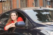 Sophie Denman of Sophie's Angels, a new women-only taxi service operating in Wellington. Photo / Facebook