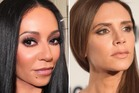 Mel B and Victoria Beckham are not seeing eye to eye. Photos / Instagram
