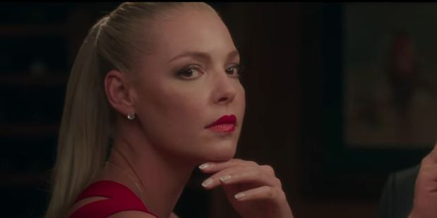 Loading Katherine Heigl's big screen return is already shaping up as a disaster.