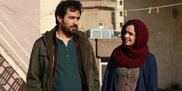 Taraneh Alidoosti and Shahab Hosseini star in The Salesman