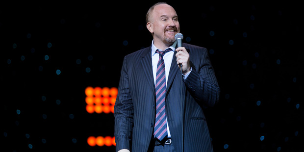 A gutsy opener set Louis C.K. up to launch right into what he does so well; brutally honest ranting. Photo / Netflix