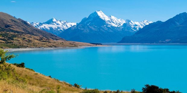 Mark was astounded by the beauty of Mount Cook. Photo / 123RF