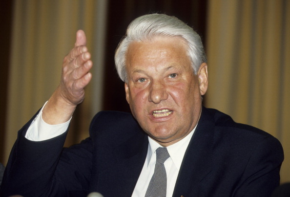 The first ever Russian Federation President, Boris Yeltsin, blew the whistle on what really happened at Military Compound 19. Photo / Getty