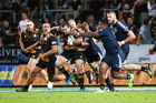 Stephen Donald in action against the Bulls. Photosport