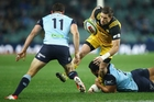 Cory Jane takes on the Waratahs tomorrow night in his first game since round one six weeks ago. Photo / Getty Images