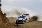 Hayden Paddon must tackle the tarmac in Corsica, his least favoured surface on the WRC. Photo / Hyundai Motorsport