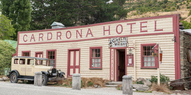 Mark suggests dropping in for a pint - as Prince Harry did - at the old Cardrona hotel. Photo / 123RF