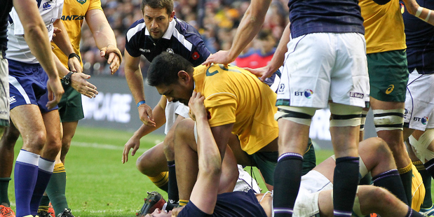 Will Skelton - rugby's biggest disappointment. Photo / Photosport