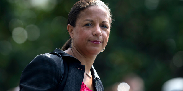 Former US National Security Adviser Susan Rice. Photo / AP