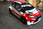 The AP4-spec Toyota Yaris 1600 that will be driven by Carl Davies in Otago. Photo / Mike Kavanaugh