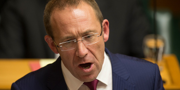 Scenic Hotel has sued Labour leader Andrew Little for defamation. Photo/Mark Mitchell