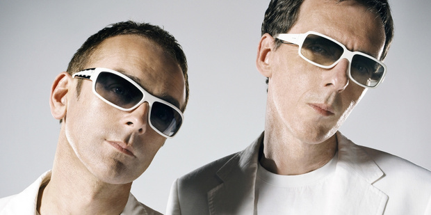 Underworld's Karl Hyde and Rick Smith will perform in New Zealand for the first time since 2003 this weekend.