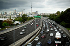 Motorway speeds have fallen from 64km/h to 55km/h at peak hours between 2014 and 2016. Photo / Dean Purcell