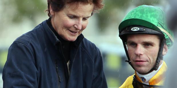Waiuku trainer Moira Murdoch and jockey Craig Grylls. Photo / John Stone